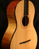 Hi-Res Tenor Guitar Flamed Maple Spruce top