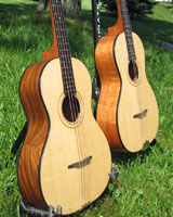 Tenor Guitar Spruce top